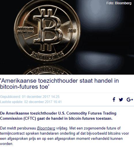 Bitcoin good news